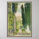 Tivoli Villa d'Este Poster