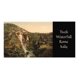 Tivoli Waterfall Rome Lazio Italy Photo Cards