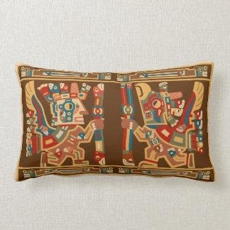 Tiwanaku Sun Warriors Lumbar Pillow