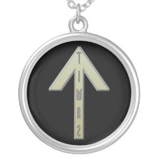 Tiwaz Rune gold Jewelry