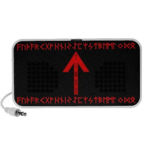 Tiwaz Rune red Mini Speaker