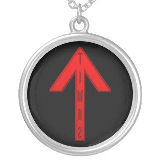 Tiwaz Rune red Custom Jewelry