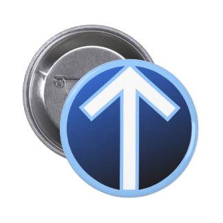 Tiwaz Teiwaz Tyr Warrior Rune Button