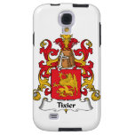 Tixier Family Crest Galaxy S4 Case