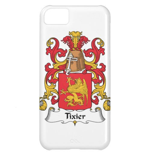 Tixier Family Crest iPhone 5C Cases