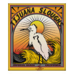 TIYUANA SLOUGHS IMPERIAL BEACH CALIFORNIA SURFING POSTERS