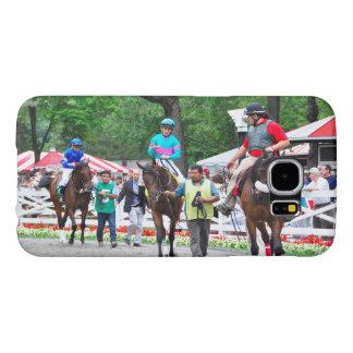Tiz Adore and Que Chulo in the Saratoga Paddock Samsung Galaxy S6 Case