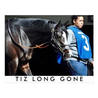 Tiz Long Gone Postcard