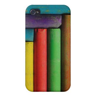 Tizas coloridas iPhone 4 coberturas
