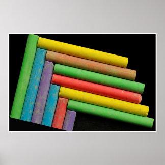 Tizas de color posters