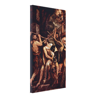 Tiziano Vecelli - Crown of Thorns Stretched Canvas Print
