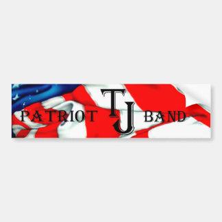 TJ Band Patriotic Bumper Sticker