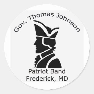 TJ Band Sticker