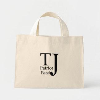TJ black logo Tote Bag