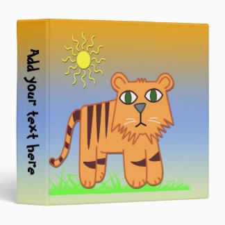 """TJ el tigre 1,5"""" carpeta de los niños"""