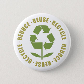TJED Reduce Reuse Recycle [logo] Button