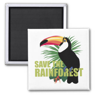 TJED Save The Rainforest Magnet