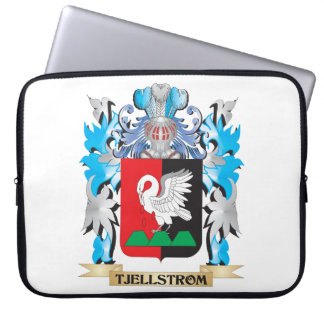 Tjellstrom Coat of Arms - Family Crest Computer Sleeves