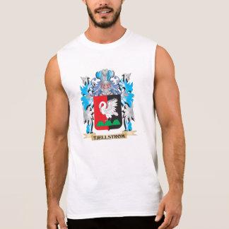 Tjellstrom Coat of Arms - Family Crest Sleeveless Shirts