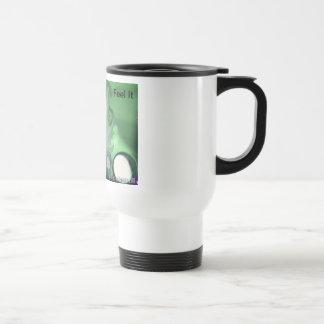 """TJL: """"Feel It"""" travel mug"""