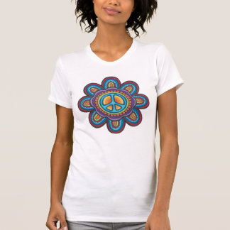 TJP RND Hippie Peace Flower T-Shirt