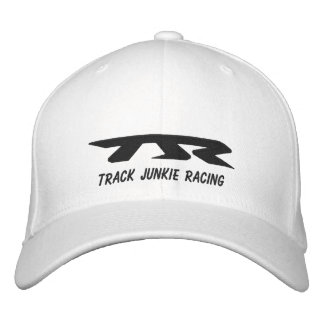 TJR Caps Black Stich Embroidered Hat
