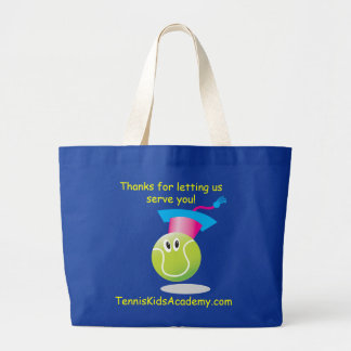 TKA_Thanks For Letting Us Serve You (dark colors) Large Tote Bag