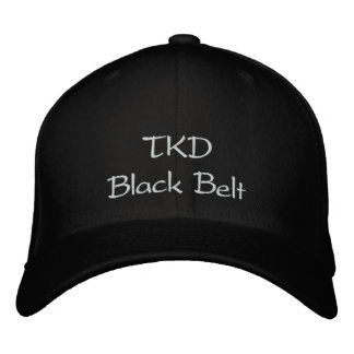 TKD Black Belt Embroidered Baseball Hat