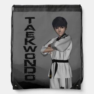 TKD Boy Drawstring Drawstring Bag