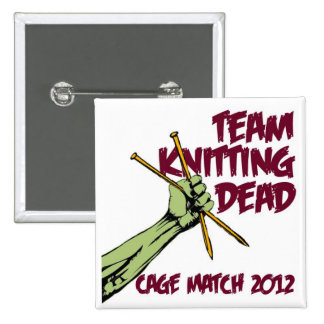 TKD Cage Match 2012 Badge Pinback Button