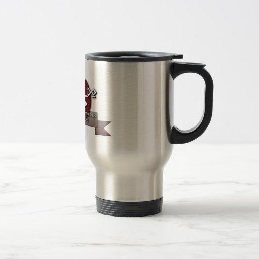 TKD DAD Tae Kwon Do 15 Oz Stainless Steel Travel Mug