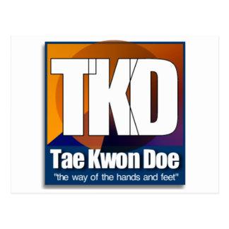 TKD el Taekwondo - la manera de las manos y de los