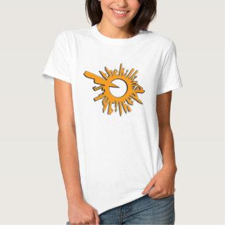 TKD Jagged Sun Logo Tee Shirt