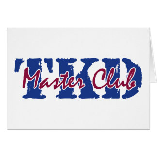 TKD - Master Club Card