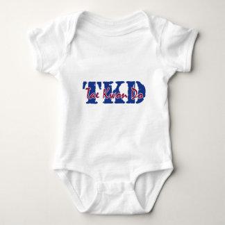 TKD Tae Kwon Do Baby Bodysuit