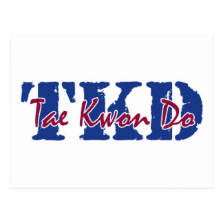 TKD Tae Kwon Do Postcard