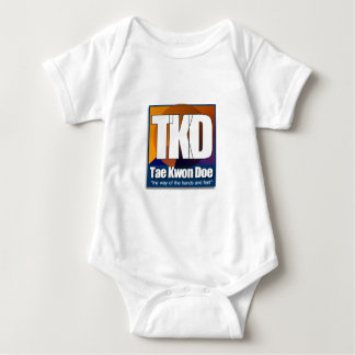 TKD Tae Kwon Do - the way of the hands and feet Baby Bodysuit