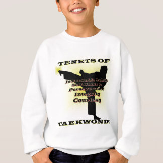TKD Tenets Gold Highlight Sweatshirt