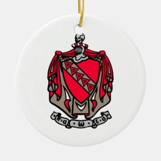 TKE Coat of Arms Ceramic Ornament