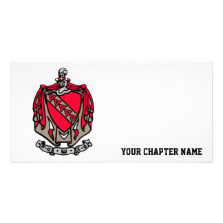 TKE Coat of Arms Custom Photo Card