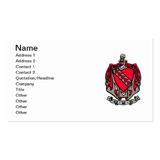 TKE Coat of Arms Double-Sided Standard Business Cards (Pack Of 100)