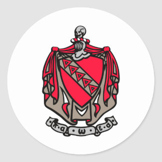 TKE Coat of Arms Stickers
