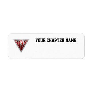 TKE Triangle Label