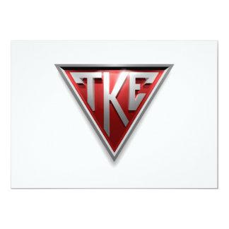 TKE Triangle Personalized Invite