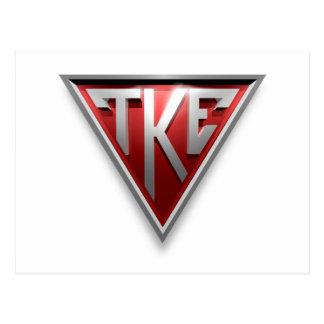 TKE Triangle Postcards