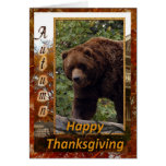 tkg-grizzly-bear-004-b greeting card