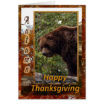 tkg-grizzly-bear-008 greeting card
