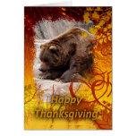 tkg-grizzly-bear-018 greeting card