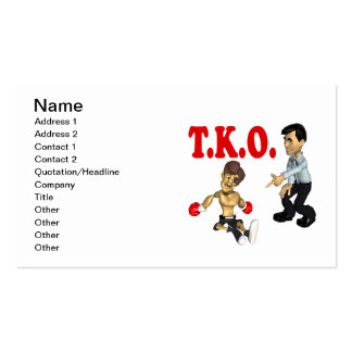 TKO 2 BUSINESS CARDS