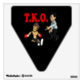 TKO 2 WALL DECAL